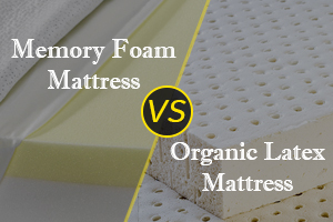 Memory Foam Vs Organic Latex Mattress Featured